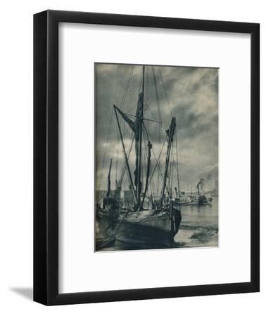 'Below the Bridges', 1936-Unknown-Framed Giclee Print