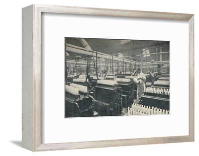 'The Candle-moulding Room', c1917-Unknown-Framed Photographic Print