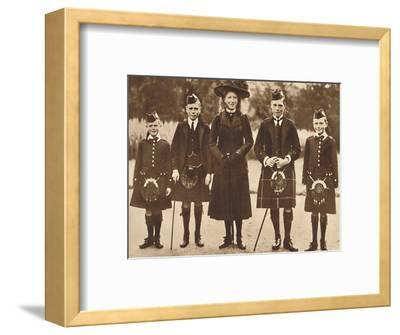'The Children of King George V and Queen Mary', c1910, (1937)-Unknown-Framed Photographic Print