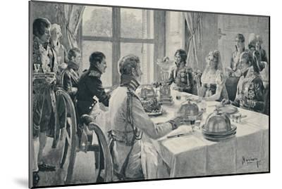 'The Incident of the Rose', 1896-Unknown-Mounted Giclee Print