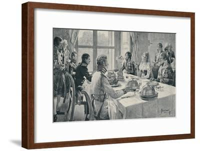 'The Incident of the Rose', 1896-Unknown-Framed Giclee Print