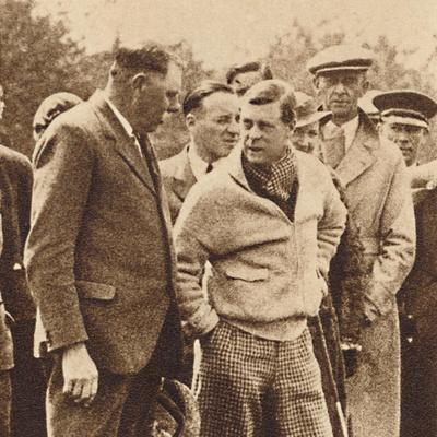 'Ardent Golfer', 1937-Unknown-Framed Photographic Print