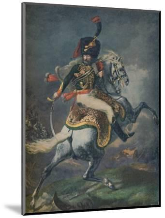 'Officer of the Mounted Chasseurs Charging. (Imperial Guard)', c1812, (1896).-Unknown-Mounted Giclee Print