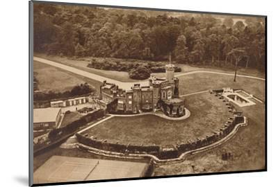 'The Fort', 1937-Unknown-Mounted Photographic Print