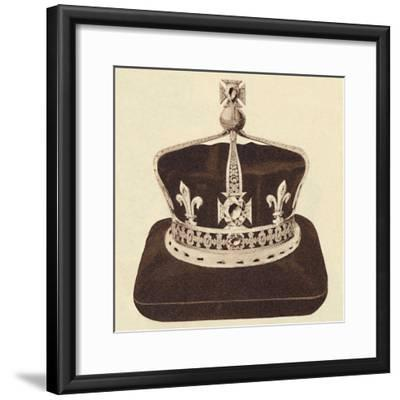 'The Queen's Crown', 1937-Unknown-Framed Photographic Print