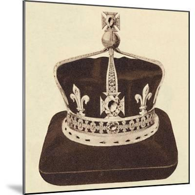 'The Queen's Crown', 1937-Unknown-Mounted Photographic Print