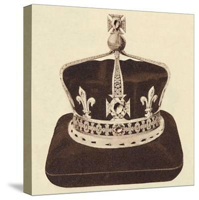 'The Queen's Crown', 1937-Unknown-Stretched Canvas Print
