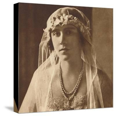 'Bridesmaid at wedding of Princess Mary and Viscount Lascelles, 1922', (1937.)-Unknown-Stretched Canvas Print