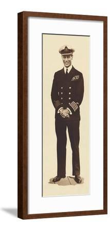 'King George V', c1920s, (1937)-Unknown-Framed Photographic Print