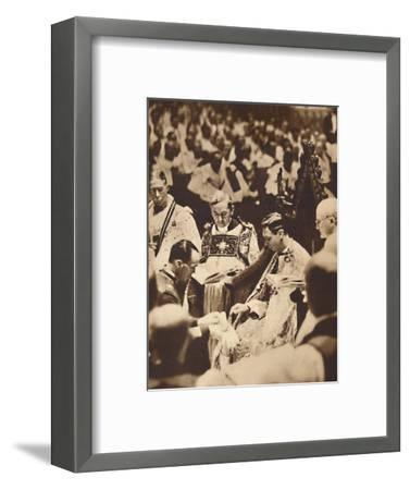 'A Right-Hand Glove', May 12 1937-Unknown-Framed Photographic Print