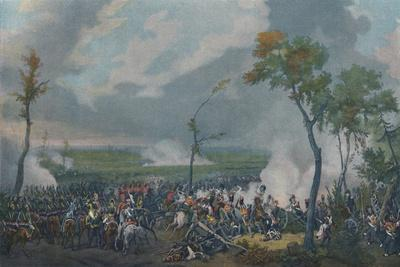 'The Battle of Hanau, October 30, 1813', (1896)-Unknown-Framed Giclee Print