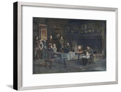 'It Is He!', 1896-Unknown-Framed Giclee Print
