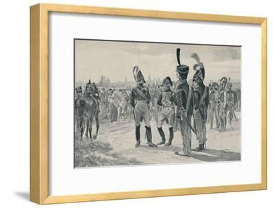 'The Gorgeous Drum-Majors', 1896-Unknown-Framed Giclee Print