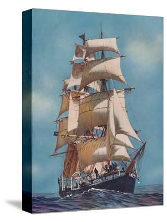 'A Training Ship for Fifty-Two Years, the Joseph Conrad is now registered as a yacht', 1937-Unknown-Stretched Canvas Print
