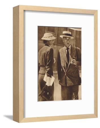 'At Saltzburg, Austria', 1937-Unknown-Framed Photographic Print