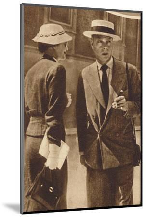 'At Saltzburg, Austria', 1937-Unknown-Mounted Photographic Print