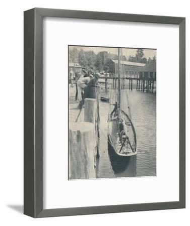 'The Yacht that sailed round the world', 1936-Unknown-Framed Giclee Print
