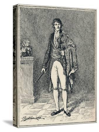 'Francois-Joseph Lefebvre - Duke of Dantzic', c1806, (1896)-Unknown-Stretched Canvas Print