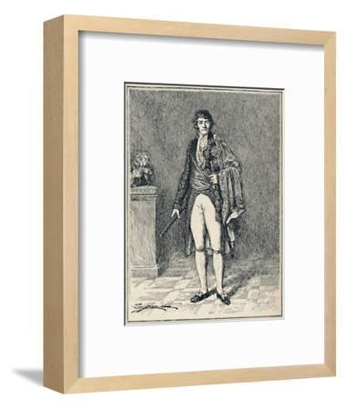 'Francois-Joseph Lefebvre - Duke of Dantzic', c1806, (1896)-Unknown-Framed Giclee Print