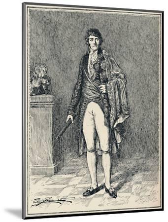 'Francois-Joseph Lefebvre - Duke of Dantzic', c1806, (1896)-Unknown-Mounted Giclee Print