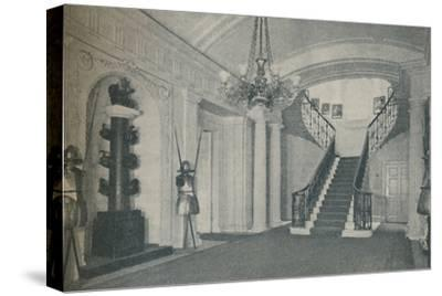'The fine Staircase Hall in the First Lord's residence at the Admiralty', 1937-Unknown-Stretched Canvas Print