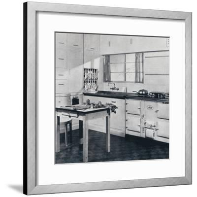 Aga Heat Ltd. The Model F Aga Cooker (for a large house)-Unknown-Framed Photographic Print