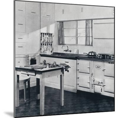 Aga Heat Ltd. The Model F Aga Cooker (for a large house)-Unknown-Mounted Photographic Print
