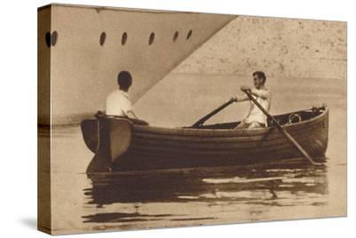 'King Edward-Oarsman', 1937-Unknown-Stretched Canvas Print