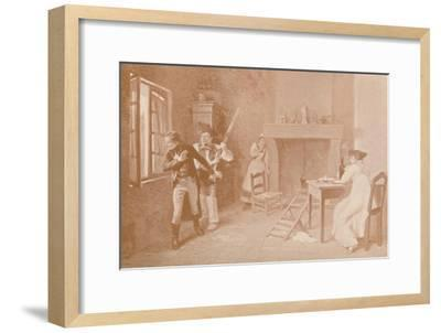 'An Episode of the White Terror, 1815', (1896)-Unknown-Framed Giclee Print