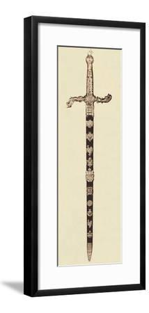 'The Sword of State', 1937-Unknown-Framed Photographic Print