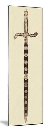 'The Sword of State', 1937-Unknown-Mounted Photographic Print