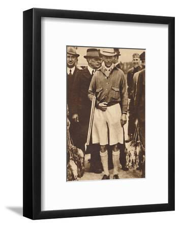 'Back from a Partridge Shoot', Austria 1936 (1937)-Unknown-Framed Photographic Print