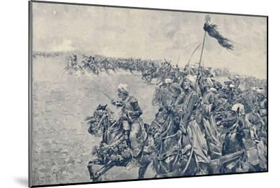 'Charge of the Mamelukes at the Battle of Austerlitz', 1896-Unknown-Mounted Giclee Print