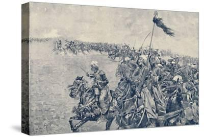 'Charge of the Mamelukes at the Battle of Austerlitz', 1896-Unknown-Stretched Canvas Print