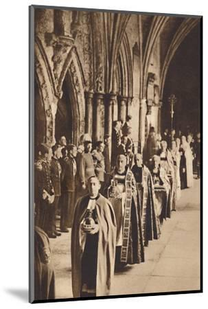 'The Regalia', May 12 1937-Unknown-Mounted Photographic Print