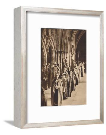 'The Regalia', May 12 1937-Unknown-Framed Photographic Print