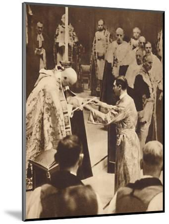 'The Sword of State', May 12 1937-Unknown-Mounted Photographic Print