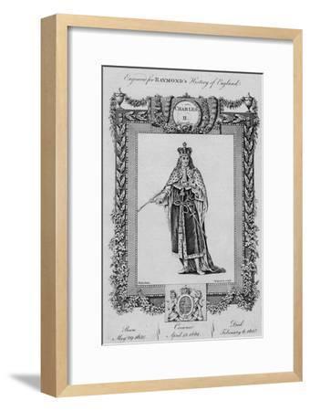 'Charles II', c1787-Unknown-Framed Giclee Print
