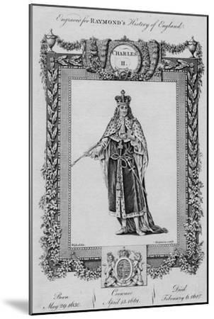 'Charles II', c1787-Unknown-Mounted Giclee Print