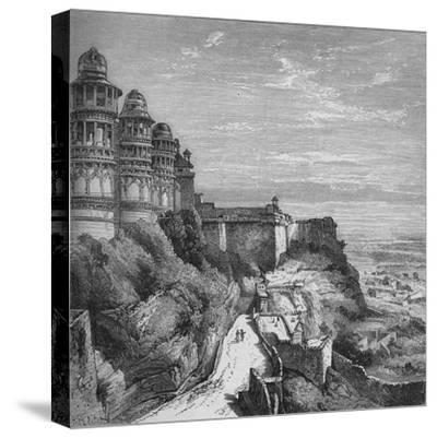 'Gwalior', c1880-Unknown-Stretched Canvas Print