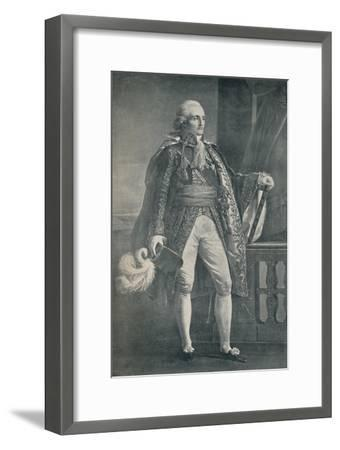 'Marshal Bon-Adrien Jannot De Moncey - Duke of Conegliano', 1806, (1896)-Unknown-Framed Giclee Print