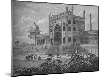 'The Palace at Delhi', c1880-Unknown-Mounted Giclee Print