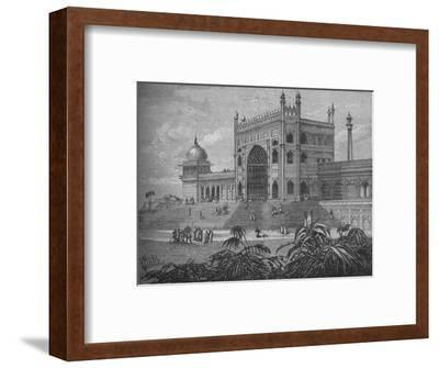 'The Palace at Delhi', c1880-Unknown-Framed Giclee Print
