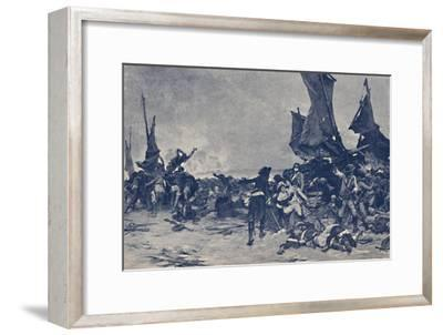 'The Battle of Quiberon', 1795, (1896)-Unknown-Framed Giclee Print