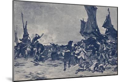 'The Battle of Quiberon', 1795, (1896)-Unknown-Mounted Giclee Print