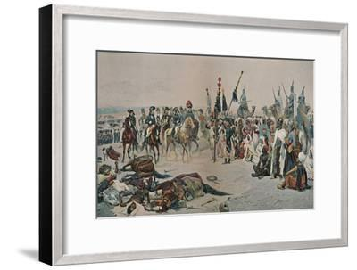'Bonaparte in Egypt', 1798-1801, (1896)-Unknown-Framed Giclee Print