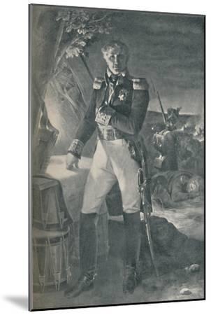 'Marshal Laurent Gouvion-Saint-Cyr', c1815, (1896)-Unknown-Mounted Giclee Print