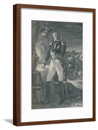 'Marshal Laurent Gouvion-Saint-Cyr', c1815, (1896)-Unknown-Framed Giclee Print