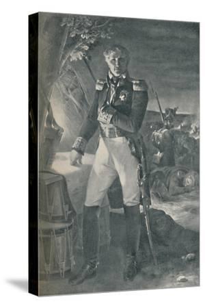 'Marshal Laurent Gouvion-Saint-Cyr', c1815, (1896)-Unknown-Stretched Canvas Print