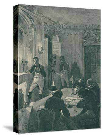 'Napoleon Dictating To His Secretaries', 1896-Unknown-Stretched Canvas Print